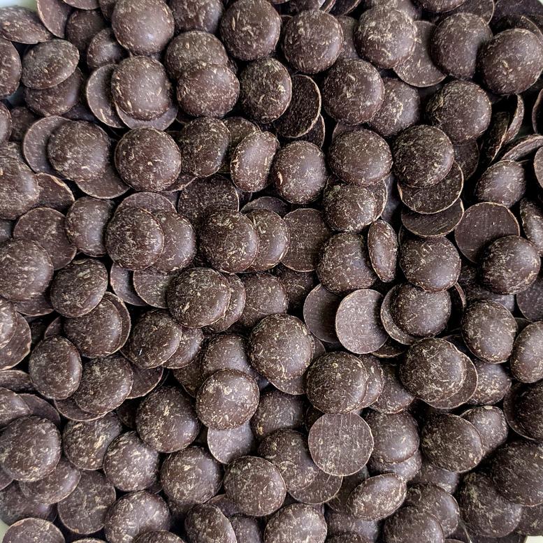 Шоколадна глазур Диски коричневі NIVES DARK, Irca, фасовка 100г